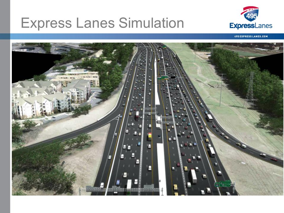 Click to edit Master title style »Click to edit Master text styles –Second level Third level –Fourth level Fifth level Express Lanes Simulation