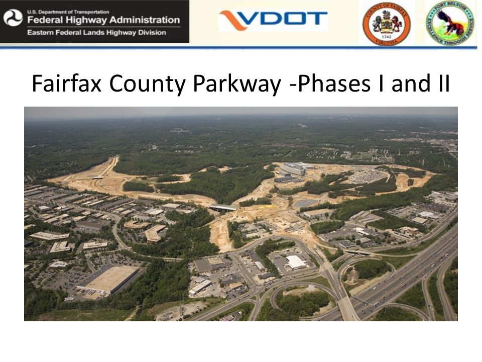Fairfax County Parkway -Phases I and II