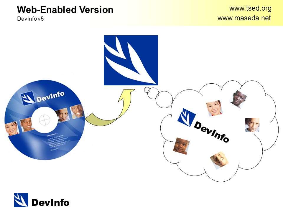 DevInfo     Web-Enabled Version DevInfo v5 DevInfo
