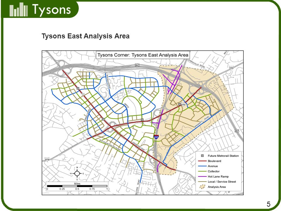 Tysons Conclusions (Tysons East) Traffic impacts were mitigated Identified right-of-way needs Finalized grid of streets Next Steps Submit analysis to VDOT to meet VA traffic impact study requirements Plan amendment 16