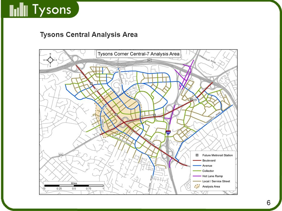 Tysons Tysons Central Analysis Area 6