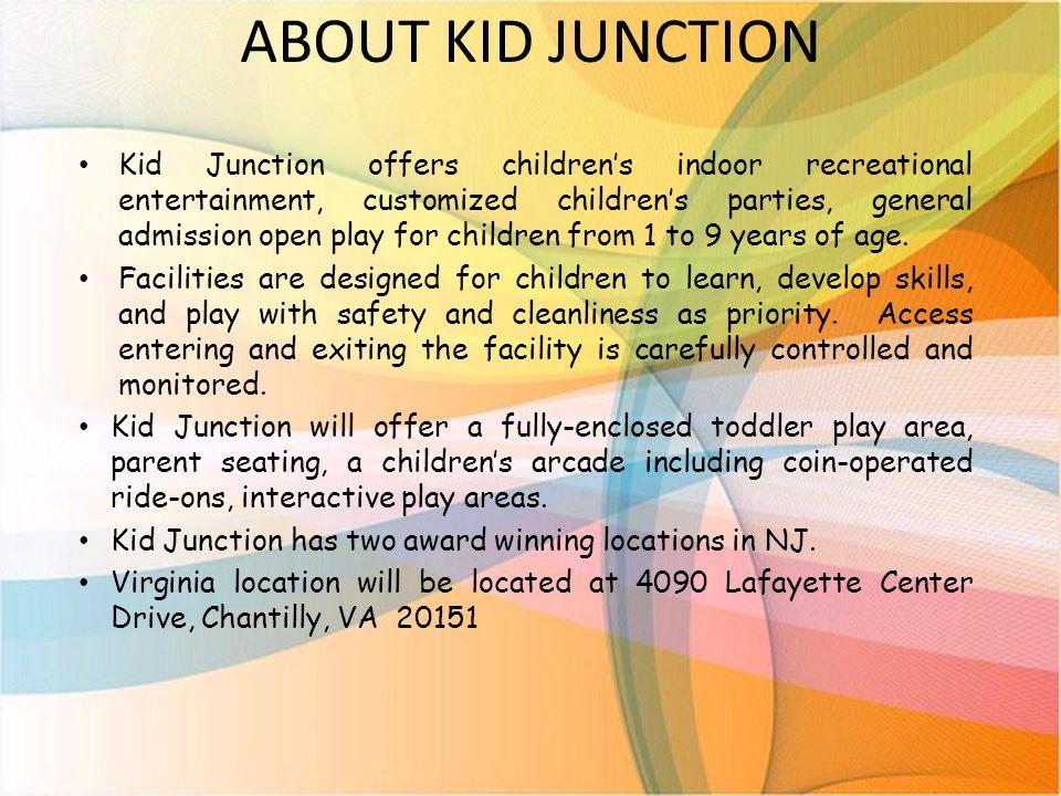 Kid Junction – Mission Statement