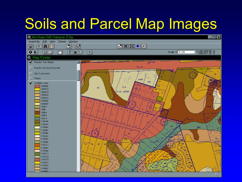 1=200 Data Conversion u Data conversion has started in the southeast corner and will move North and then West u 10% of the planimetric tiles (building footprints and paved areas) have been delivered u 75% of Orthophotography has been delivered u Expected completion: Spring 1999