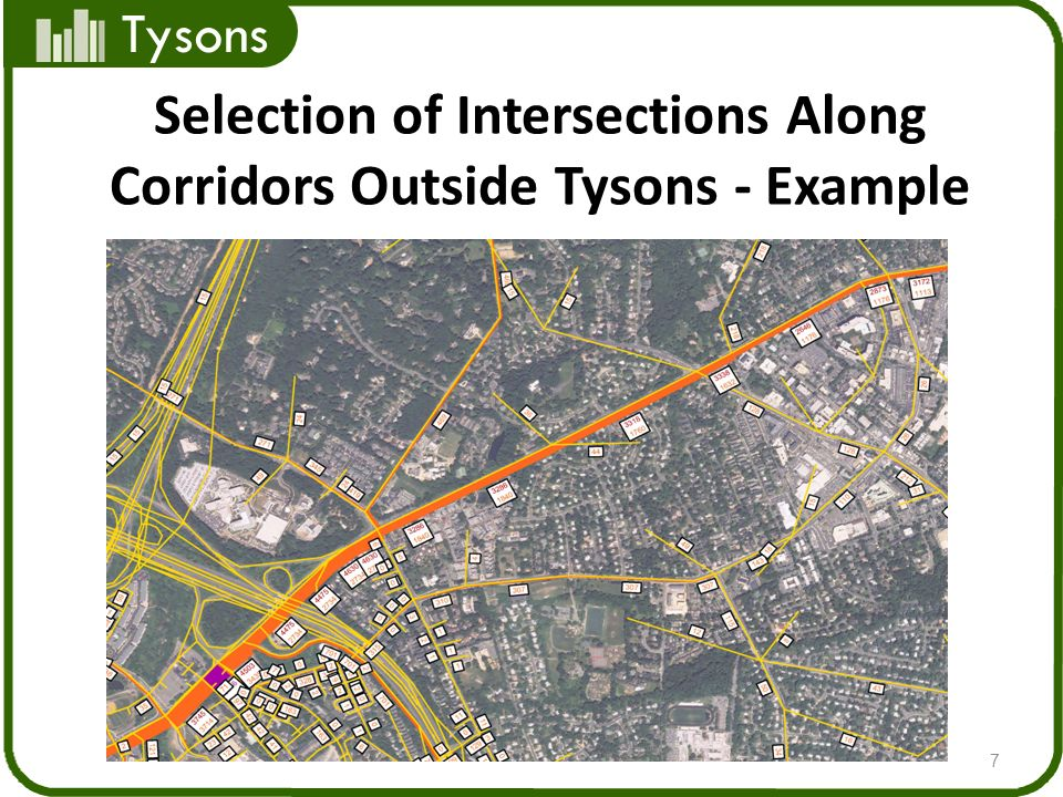 Tysons Selection of Intersections Along Corridors Outside Tysons - Example 7