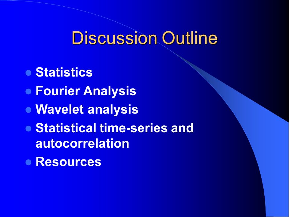 Preliminaries: Elementary Statistics Mean: Arithmetic mean or average of a data set Variance & standard deviation: How much do the data vary about the mean?