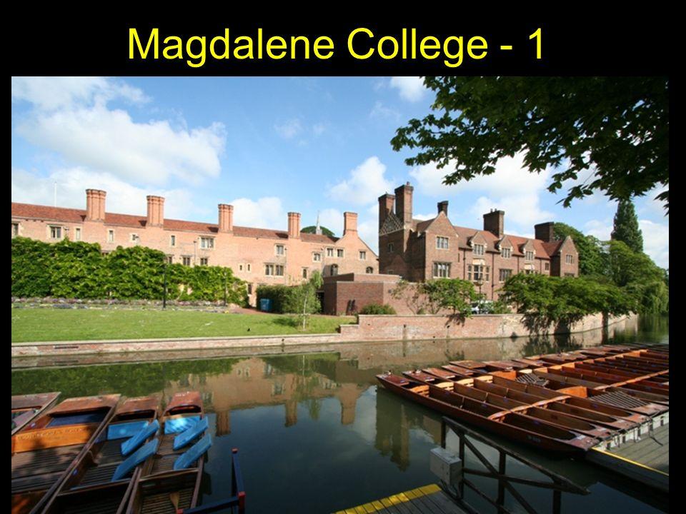 Magdalene College - 1