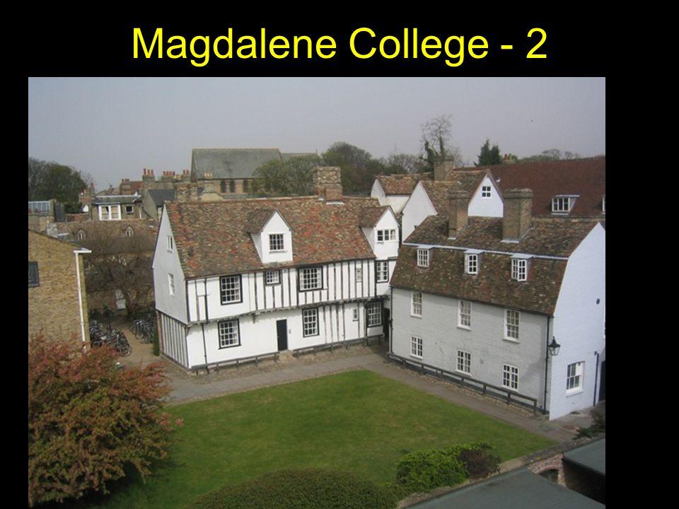 Magdalene College - 2