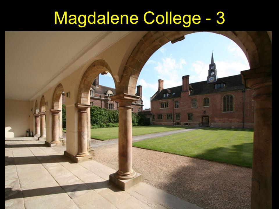 Magdalene College - 3