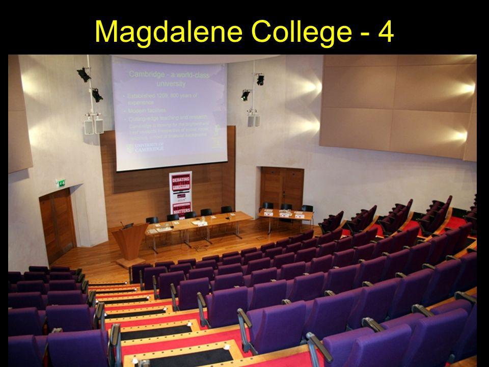 Magdalene College - 4