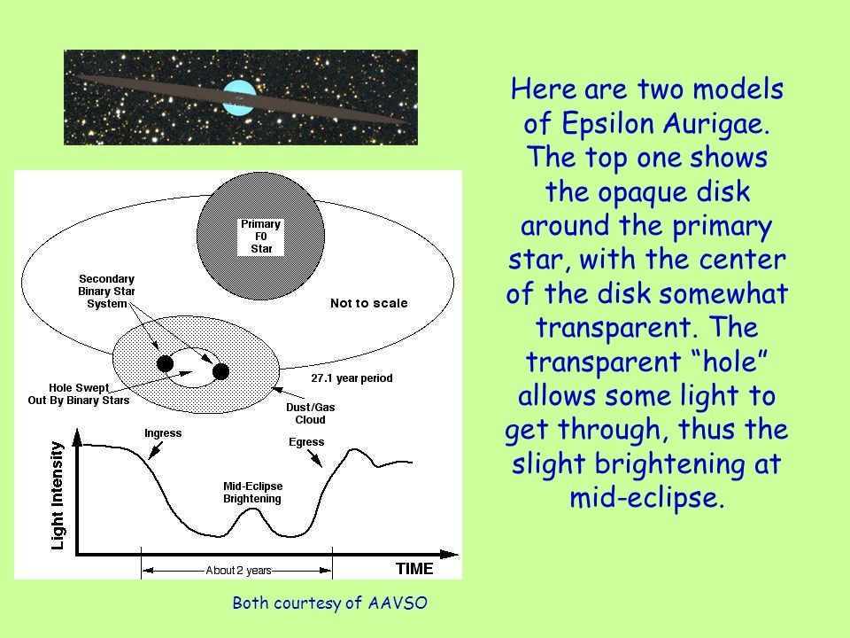 Here are two models of Epsilon Aurigae.