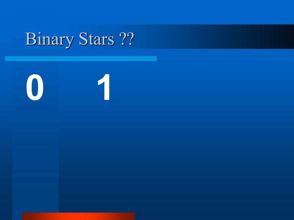 Binary Stars - What can we learn.