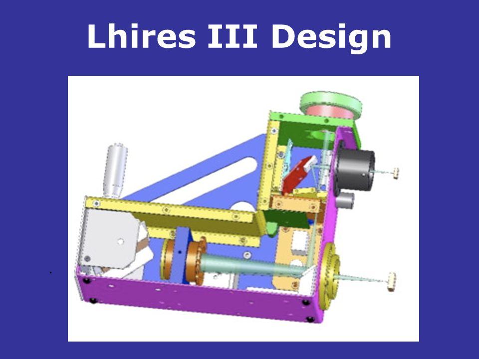 Lhires III Design.