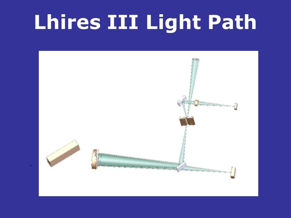 Lhires III Light Path.