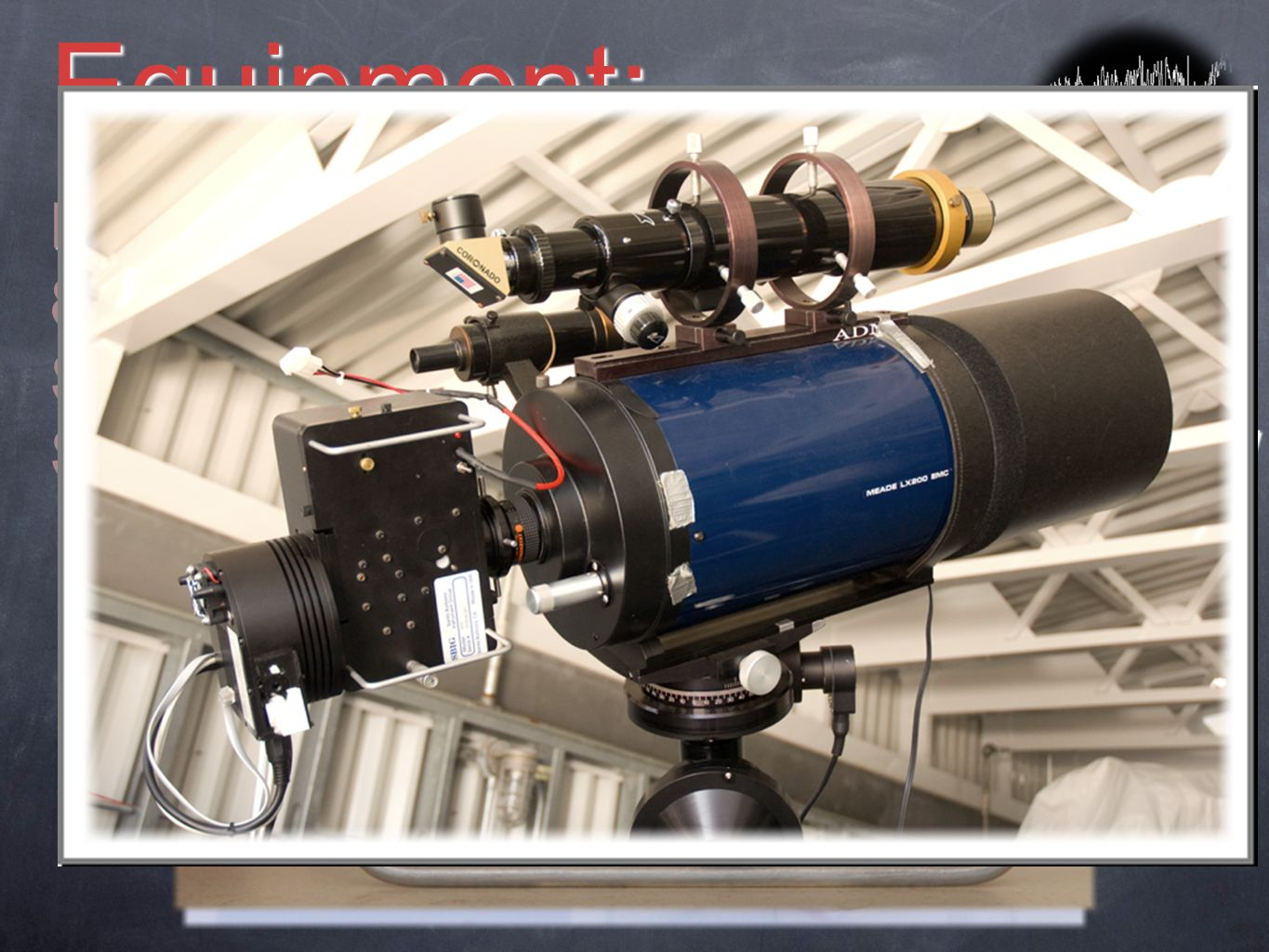 Equipment: Losmandy G-11-excellent tracking. 8SCT @f/6.3 -good signal -5 min.