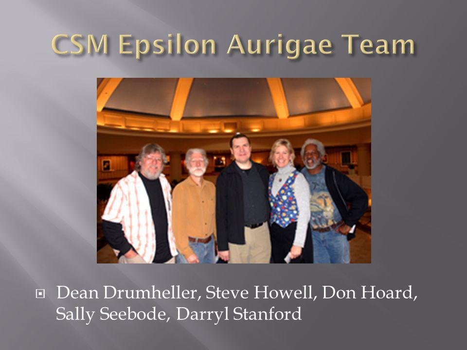 Dean Drumheller, Steve Howell, Don Hoard, Sally Seebode, Darryl Stanford