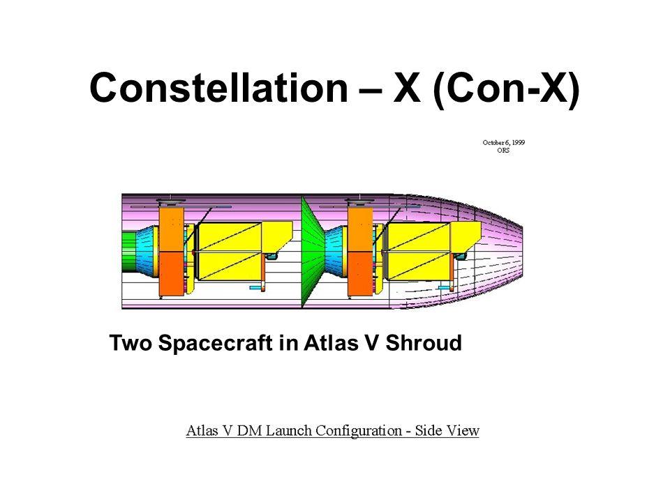 Constellation – X (Con-X) Two Spacecraft in Atlas V Shroud