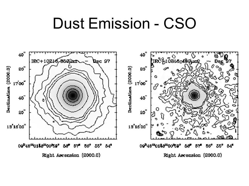 Dust Emission - Keck