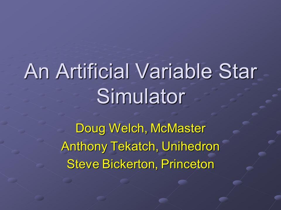 Why Simulate.