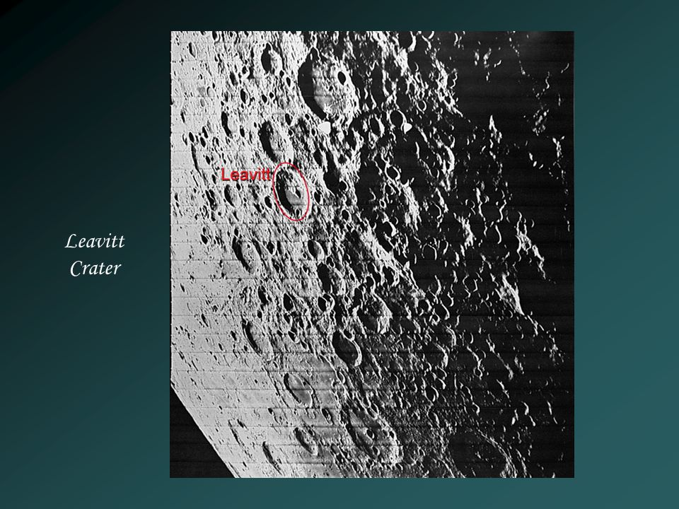 Leavitt Crater