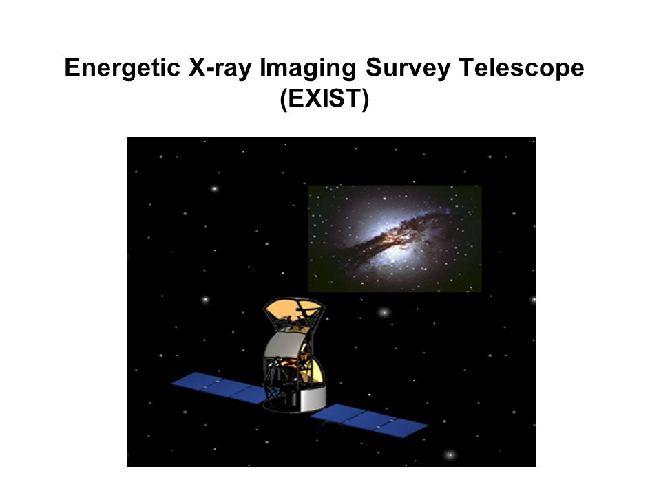 Energetic X-ray Imaging Survey Telescope (EXIST)