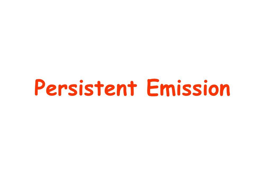 Persistent Emission