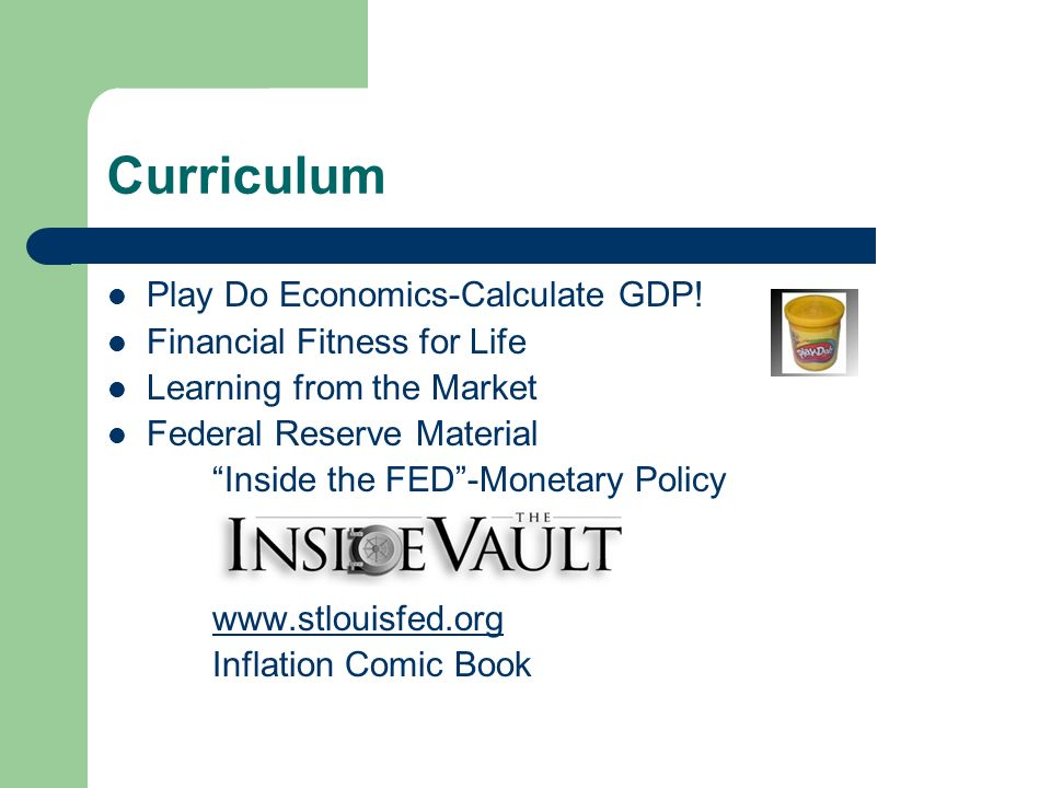 Curriculum Play Do Economics-Calculate GDP.