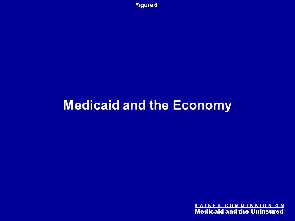K A I S E R C O M M I S S I O N O N Medicaid and the Uninsured Figure 5 Median Medicaid/SCHIP Income Eligibility Thresholds, 2008 Federal Poverty Line (For a family of four is $21,200 per year in 2008) SOURCE: KCMU/Urban Institute analysis of March 2008 CPS.