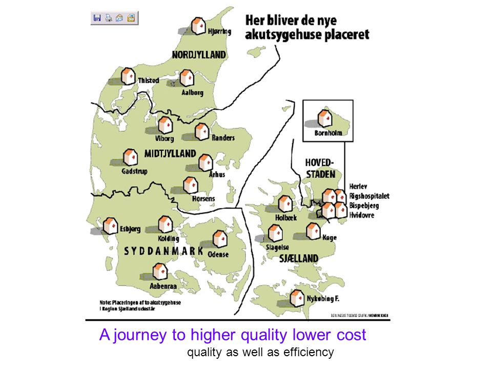 A journey to higher quality lower cost quality as well as efficiency
