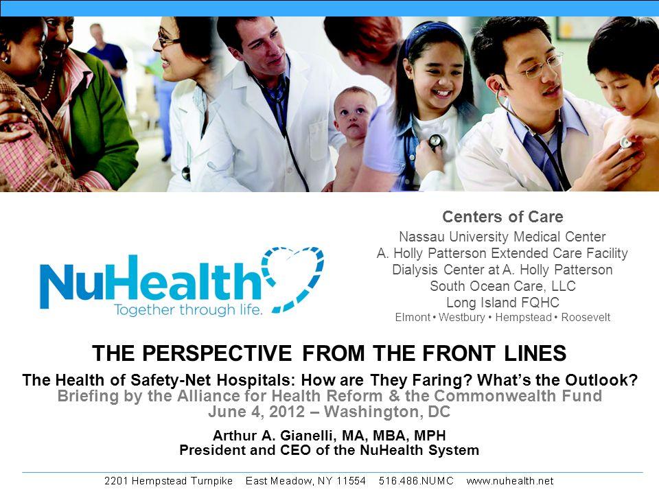 Centers of Care Nassau University Medical Center A.
