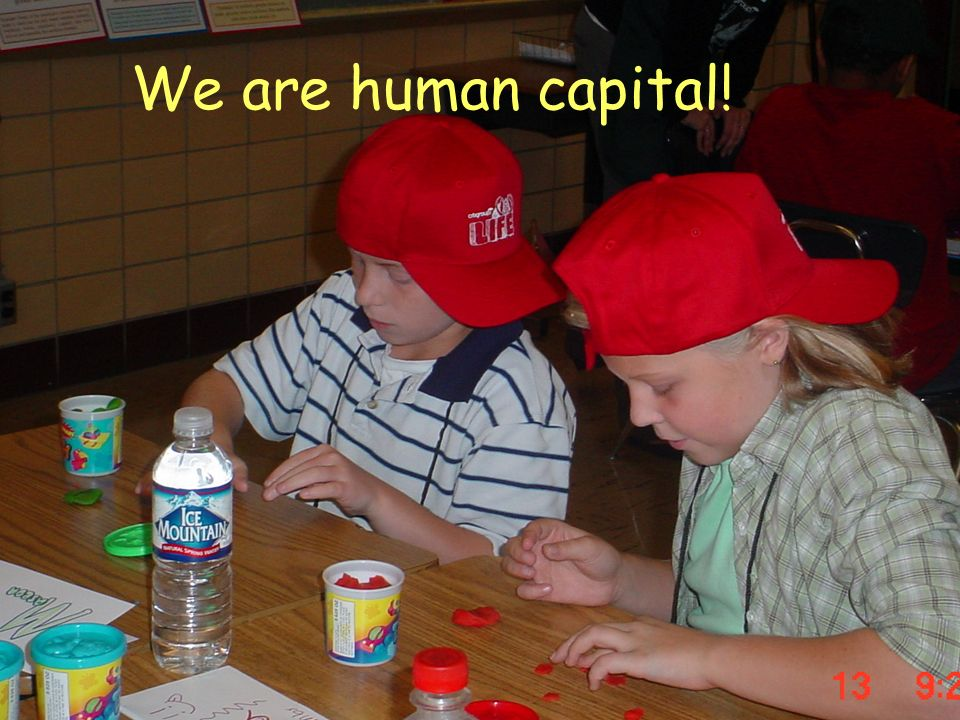 We are human capital!