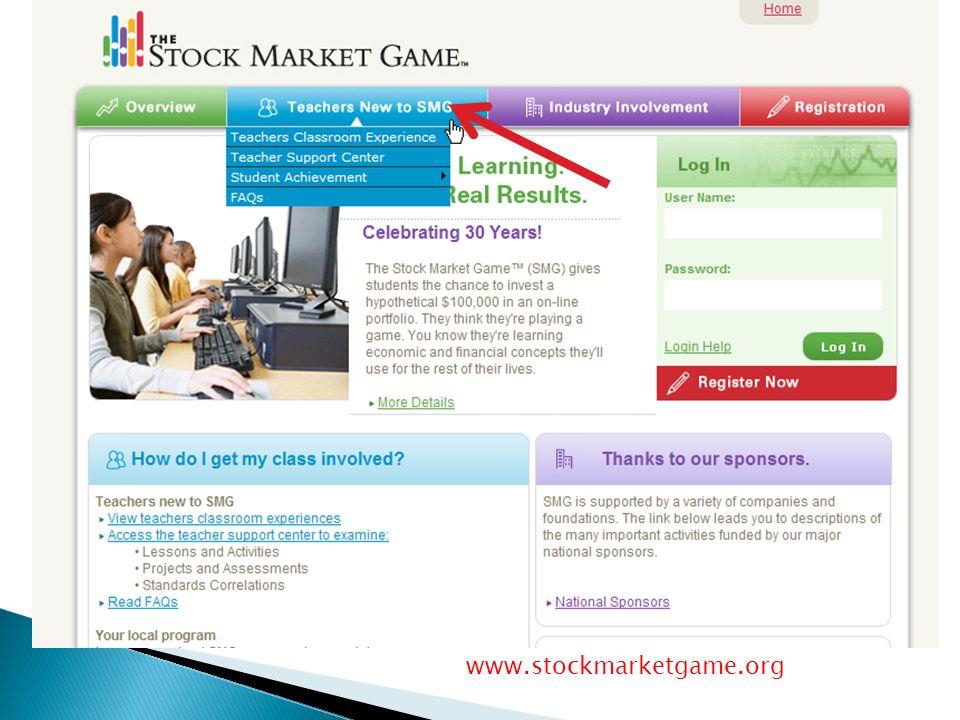 www.stockmarketgame.org