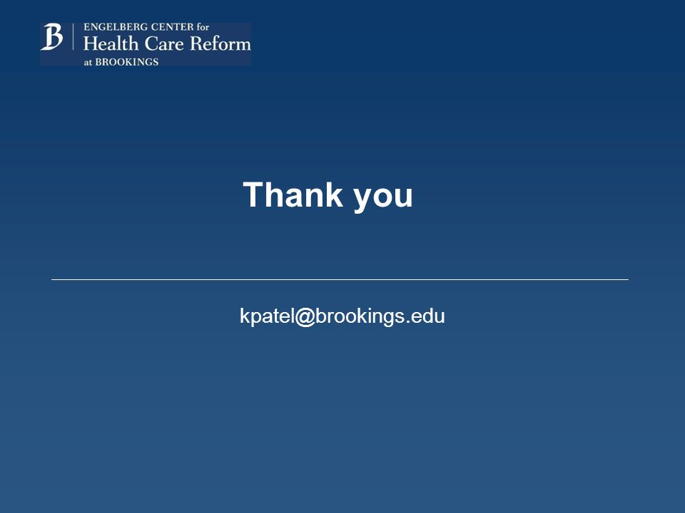 Thank you kpatel@brookings.edu