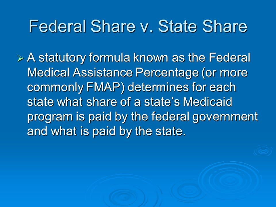Federal Share v.