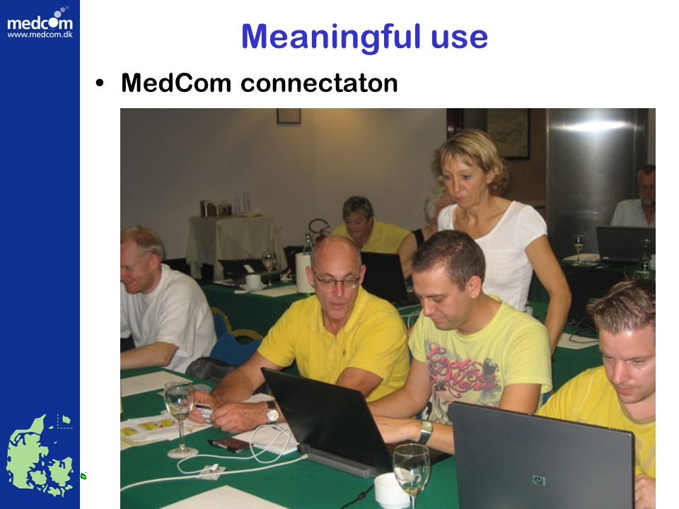 Meaningful use MedCom connectaton Health Telematics Danish Centre for MedCom