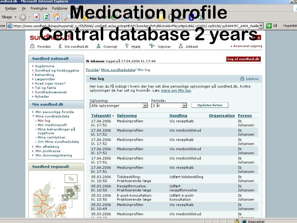 WEB – E.LPR Hospital cases (ICD10 coded)