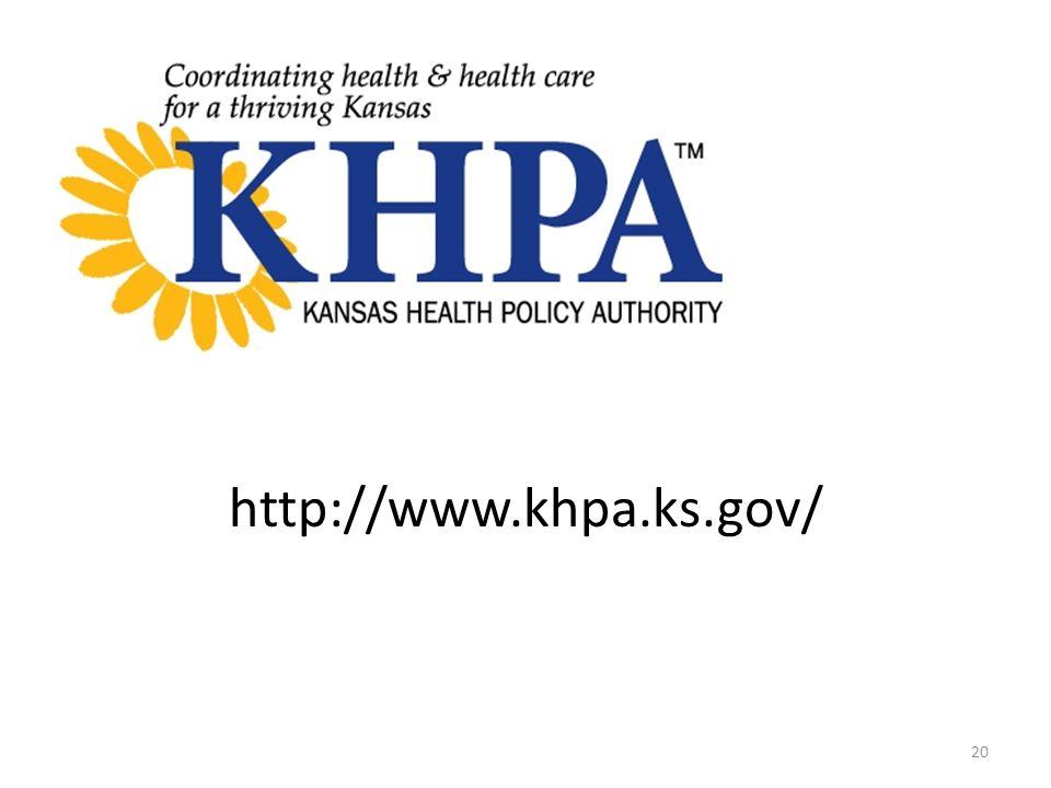 http://www.khpa.ks.gov/ 20