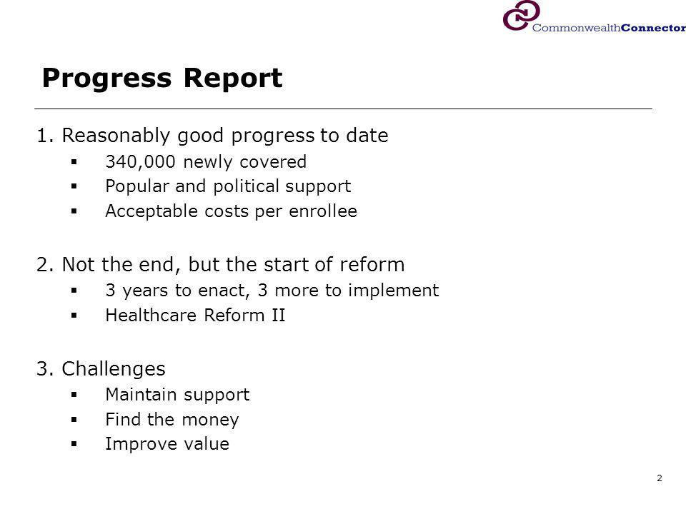 2 Progress Report 1.