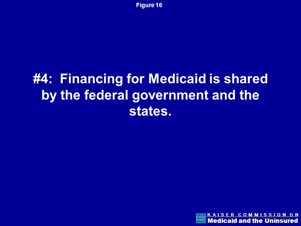 Figure 15 K A I S E R C O M M I S S I O N O N Medicaid and the Uninsured Most Medicaid enrollees receive care through private managed care.