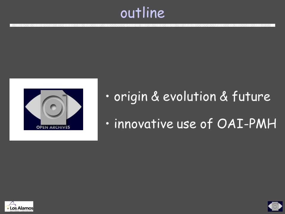 innovative use of OAI-PMH OAI Static Repository OAI-PMH-based access to DL usage logs OAI-PMH-conformant OpenURL Registry