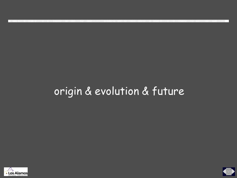origin & evolution & future