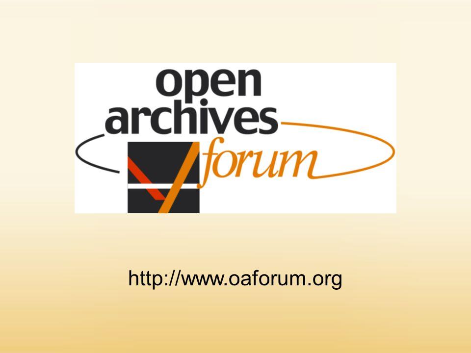 http://www.oaforum.org
