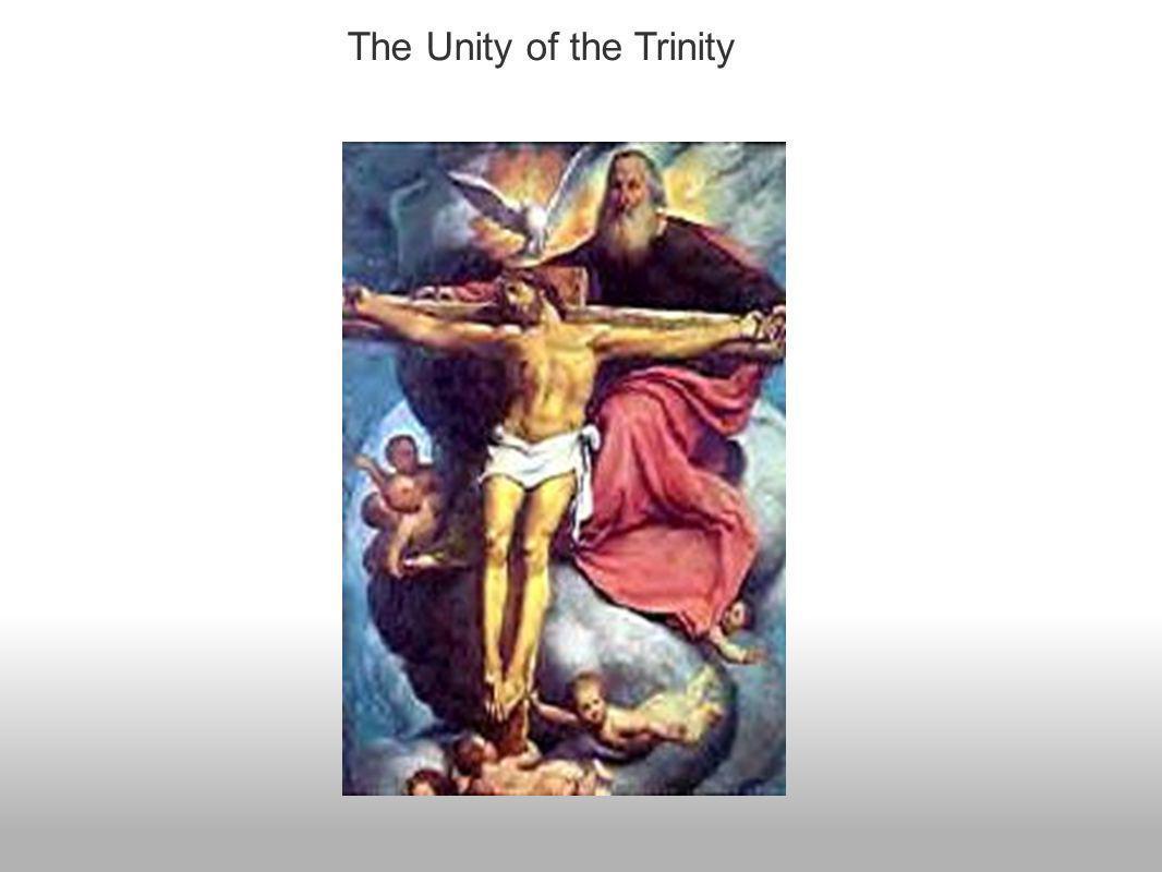 The Unity of the Trinity
