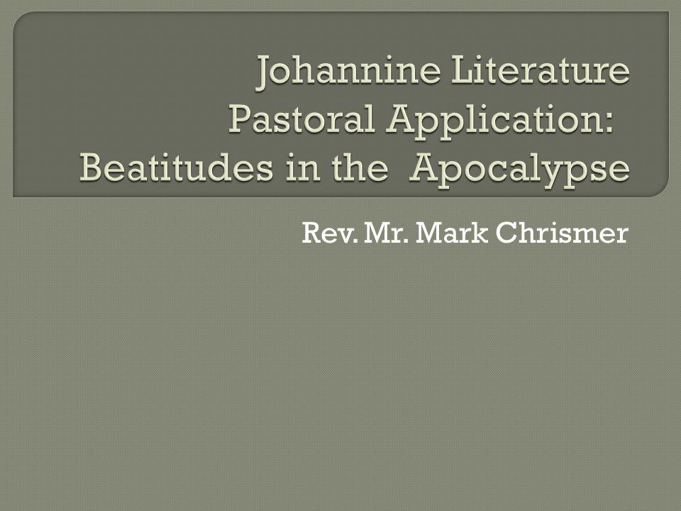 Rev. Mr. Mark Chrismer