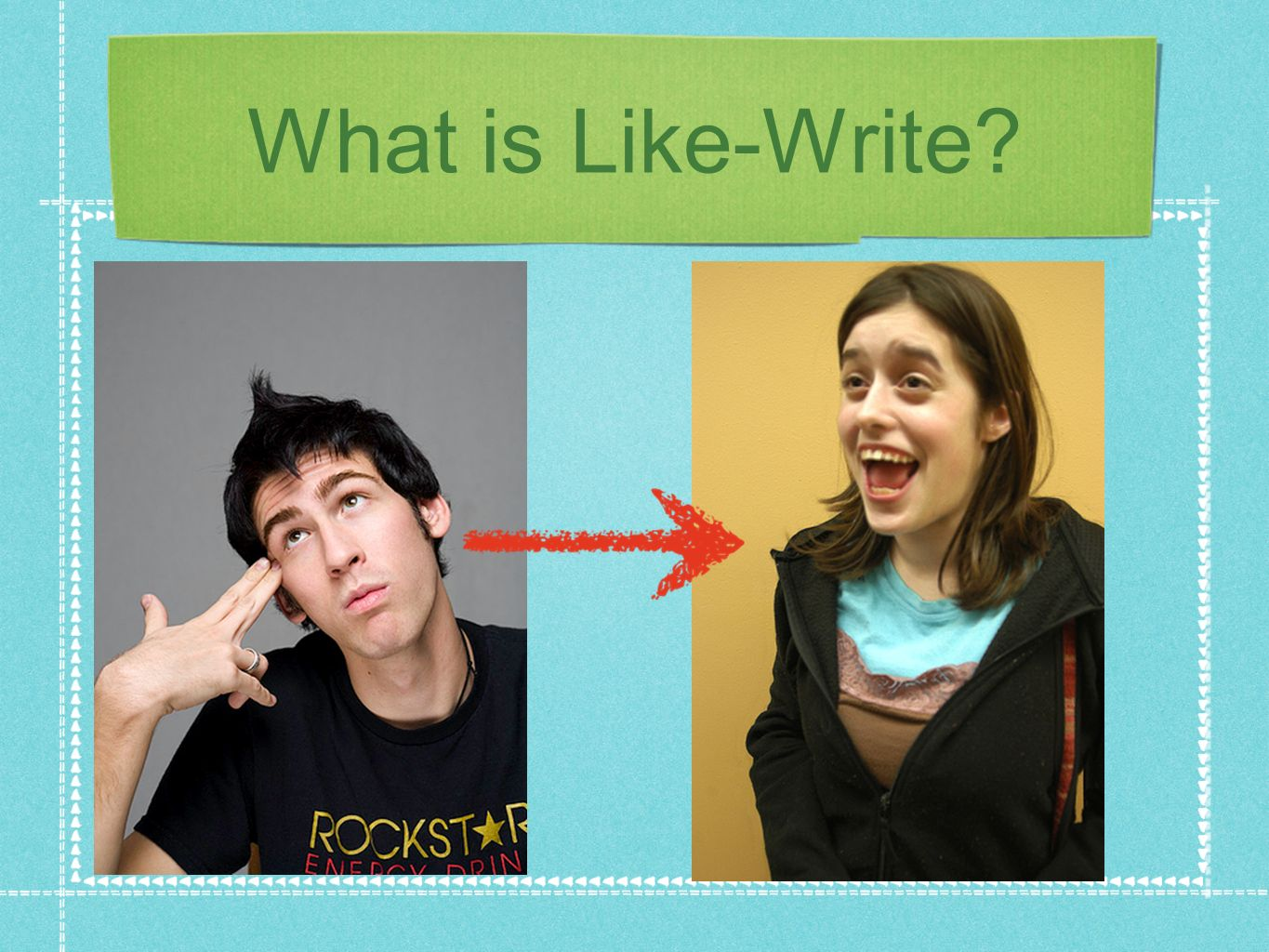 What is Like-Write?