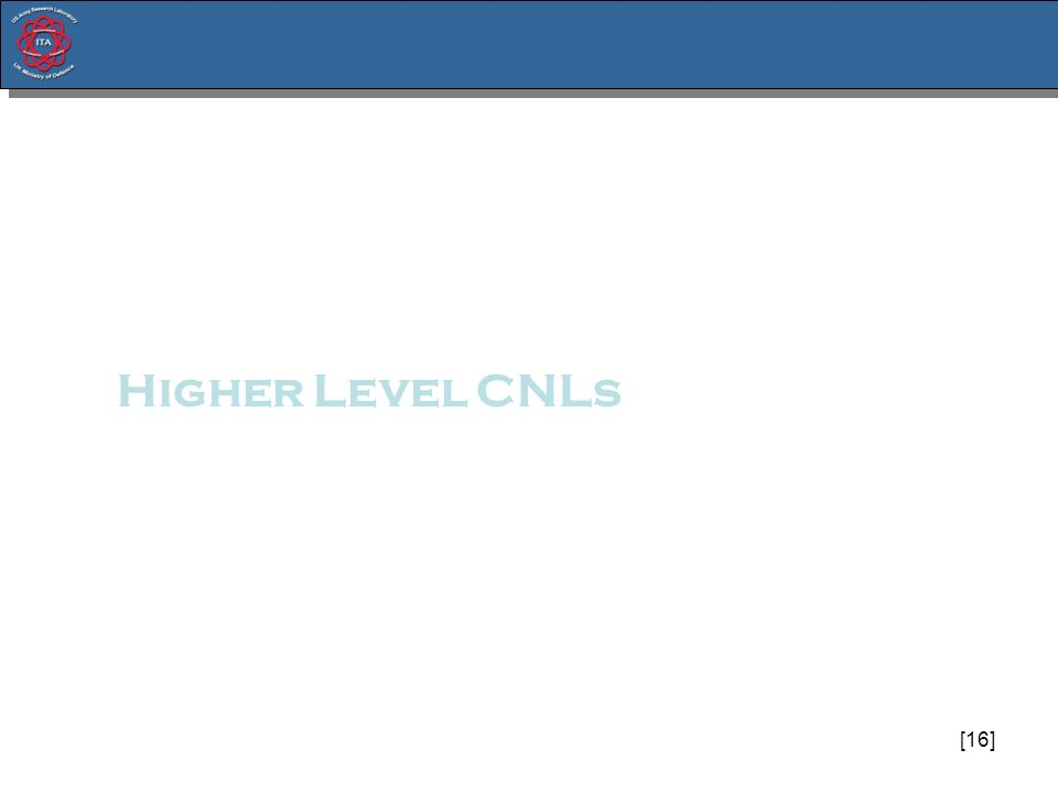[16] Higher Level CNLs