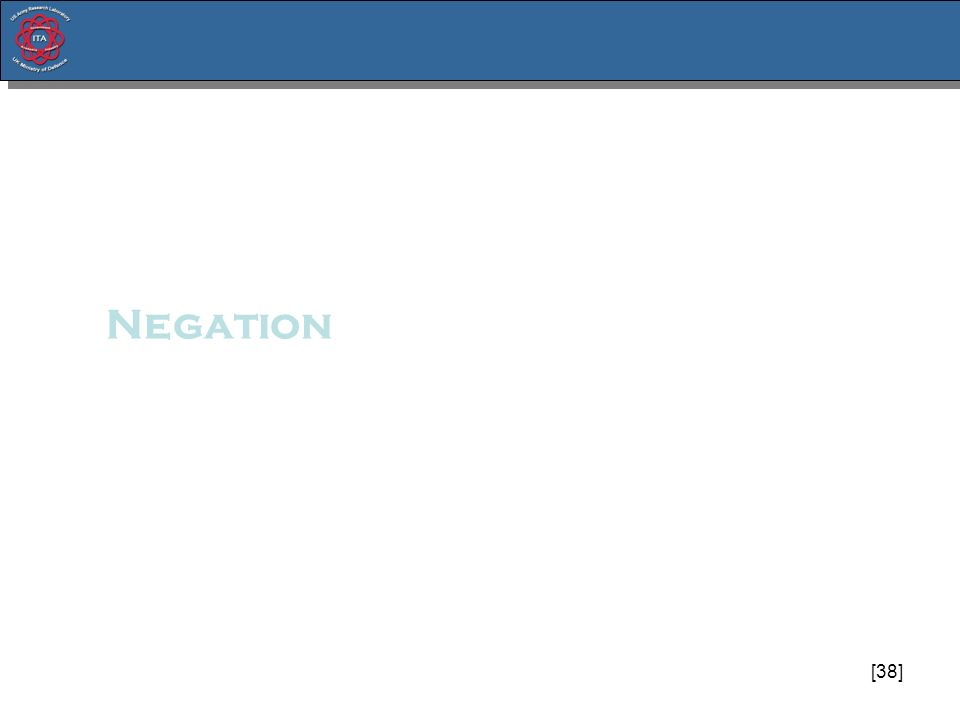 [38] Negation