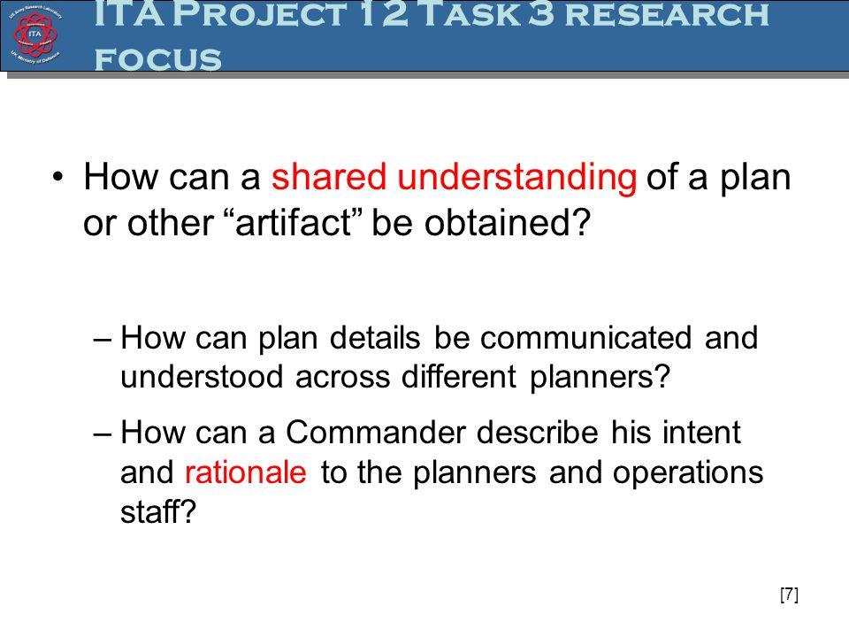 [8] Collaborative Planning Model