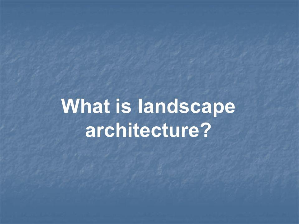 Obtain a Bachelor of Landscape Architecture (BLA) or a Bachelor of Science in Landscape Architecture (BSLA).