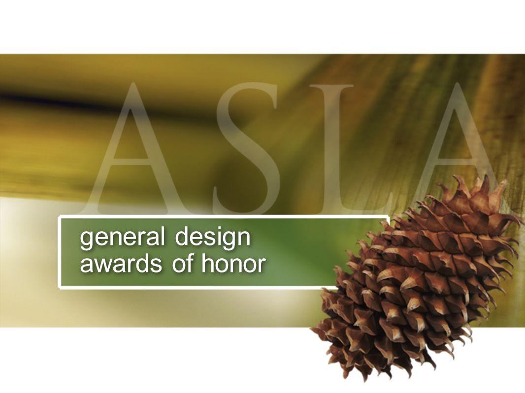 general design awards of honor
