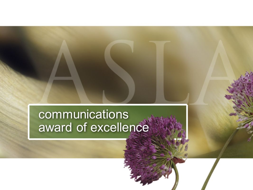 communications award of excellence